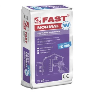 FAST NORMAL-W an adhesive mortar for mineral wool 25kg